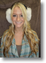 Fur Hat -- Artic Fox Ear Muffs