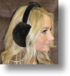 Fur Ear Muffs -- Mink Ear Muffs