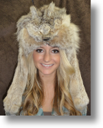 Fur Hat - Lynx Mountain Man