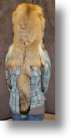 Fur Hat - Red Fox Mountain Man with Face