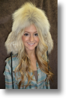 Fur Hat - Coyote Sportsman Hat