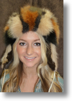 Fur Hat - Mink and Fox Ladies Hat
