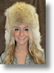 Fur Hat -  Coyote Mountain Man No Face