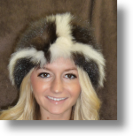 Fur Hat - Skunk Hat