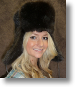 Fur Hat - Mink Hat Trooper Style