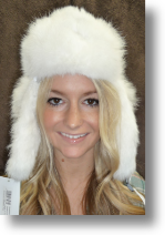Fur Hat - Rabbit Bomber Hat