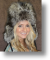 Fur Hat - Silver Fox Sportsman Hat